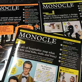 MONOCLE 2015 Magazine