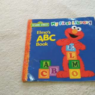 Elmo learn ABC child books