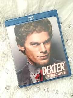 Charity Sale! Dexter the Third Season Blu Ray DVD Set