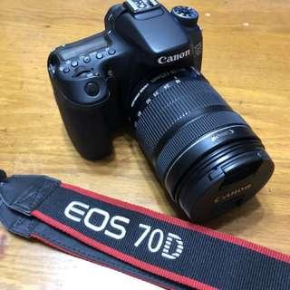 Canon 70D EF-S 18-135 STM Kit鏡