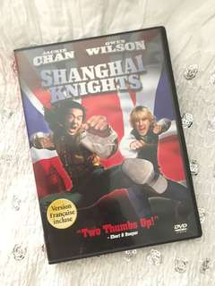 Charity Sale! Shanghai Knights Jackie Chan and Owen Wilson Action Comedy DVD