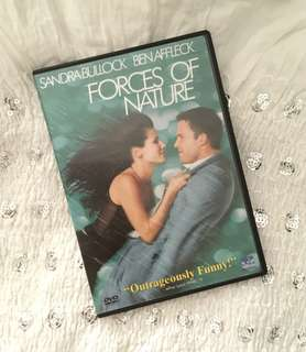 Charity Sale! Forces of nature DVD with Sandra Bullock and Ben Affleck