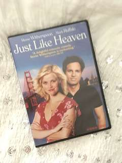 Charity Sale! Just Like Heaven DVD ROmantic Comedy Movie
