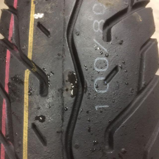中古100/80/17機車輪胎