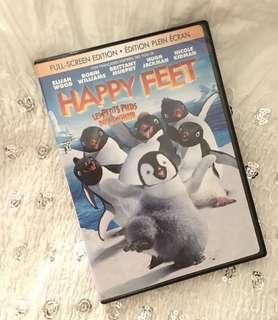 Charity Sale! Happy Feet Children's DVD Movie Animated