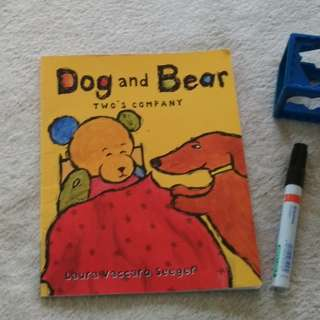 Dogs and bear friendship kids book