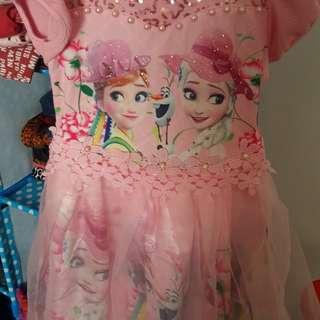 sleeveless dress little girl