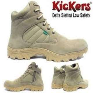 Sepatu Safety Boots Midle Delta Kickers