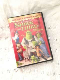Charity Sale! Shrek the third DVD Animated Movie