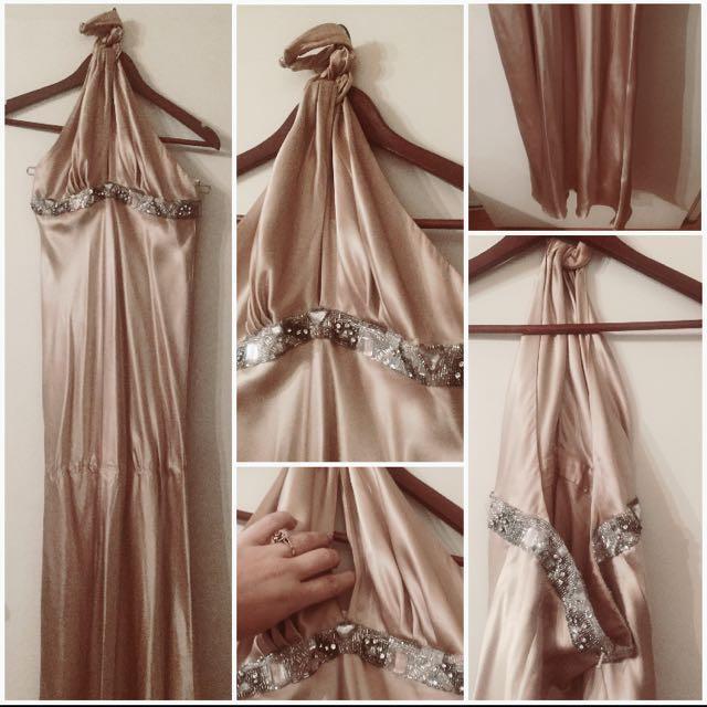 100% Silk Prom Dress