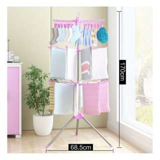 3 Tier Clothes Drying Rack/3 layers Hanger/Ampai Baju
