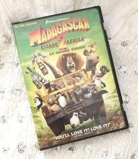 Charity Sale! Madagascar 2 DVD Children's Movie Animated