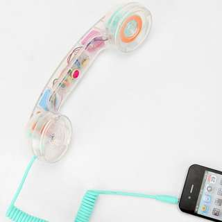 NATIVE UNION Pop Phone Handset — Clear (BNIB)