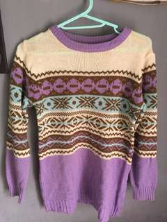 Sweater tribal good quality