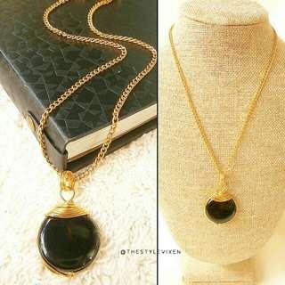 Madeline Black Necklace