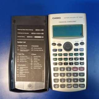 Casio financial consultant calculator FC-100v