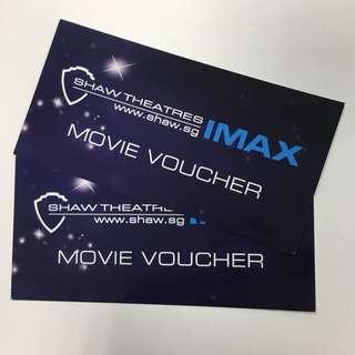 IMAX Movie Voucher at Shaw