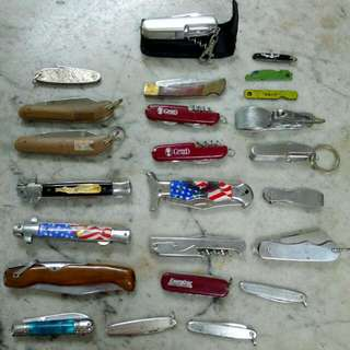 Pocket Knives Lot