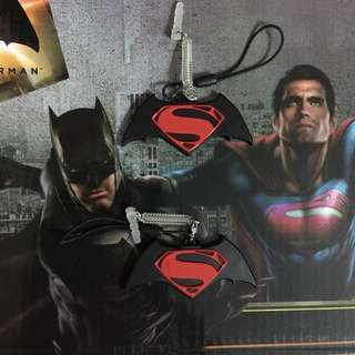 Limited Edition brand new DC Comics Batman vs Superman Design ezlink charm with nice Box For $98.