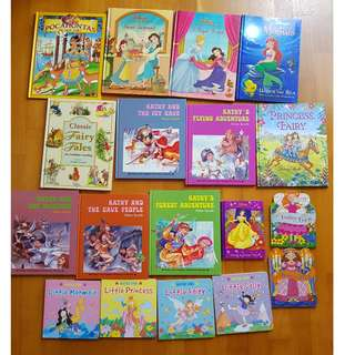 A bundle of books for girls
