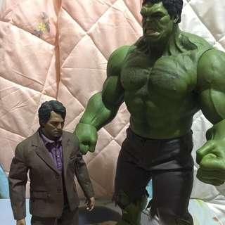 Hot Toys Bruce Banner & Hulk
