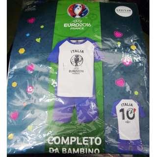 UEFA euro 2016 italia kids足球衫