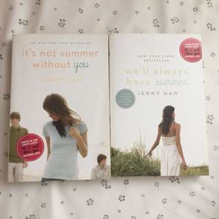 It's not Summer without you JENNY HAN