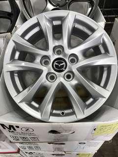 """Original Mazda 16"""" Rims"""