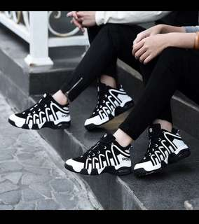 Couple sneakers