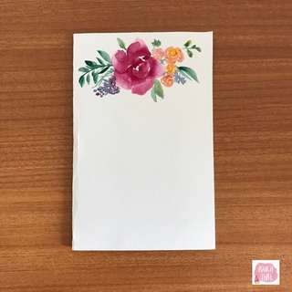 Customisable handmade watercolour flowers (Free delivery and card sending)