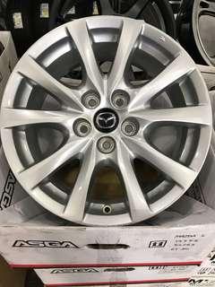"""Original Mazda 17"""" Rims"""