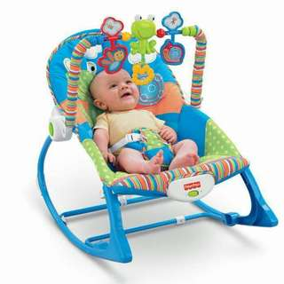 NEW FISHER PRICE ROCKER