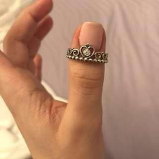 Princess pandora ring size 7