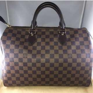 Louis Vuitton Damier Ebene Speedy 35