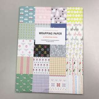 🎁Wrapping paper 花紙 (20pcs)