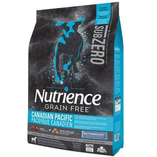 Nutrience Subzero Canadian Pacific Formula Grain Free Dry Dog Food