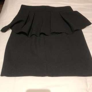 Cupcake wrap work skirt