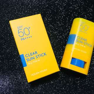 【Ready Stock】 Holika Holika Sun Clear Stick