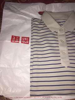 Polo Uniqlo Pique Striped