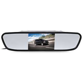 💯 4.3 inch Color Digital TFT LCD Screen Car Rear View Mirror Monitor