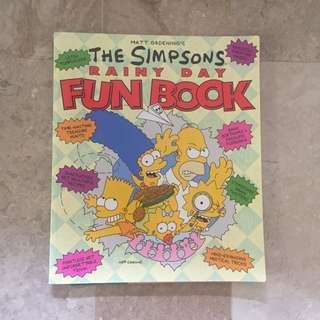 The Simpsons Rainy Day Fun Book!