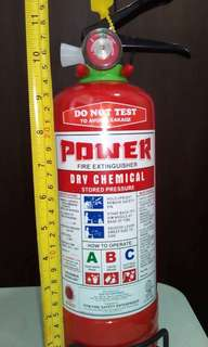 Refillable Fire Extinguisher - 3lbs Dry Chemical ABC