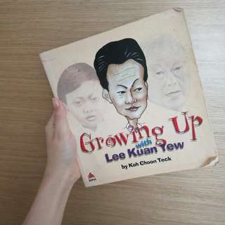 Lee Kuan Yew Cartoon Biography