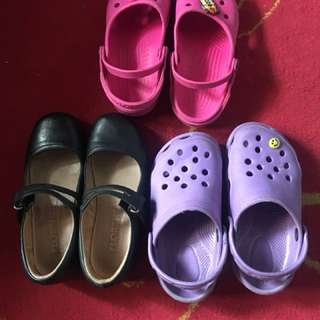 Take all crocs Florsheim reva size 20 cm buddle only pls