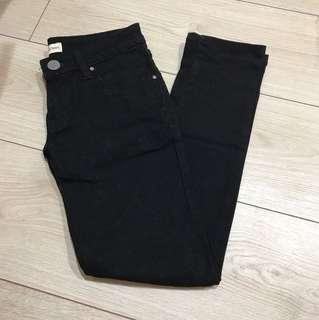 Zara原單 黑色基本款牛仔褲 九分褲 七分褲 牛仔褲 窄管褲 skinny