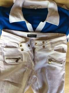 Pierre Balmain White Jeans