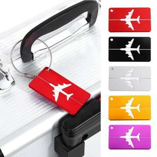 $5.30 Free Mail Aluminum Metal Luggage Tags