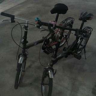 Aleoca foldable bicycle (FORAGGIO 2 & SOBBORGHI)