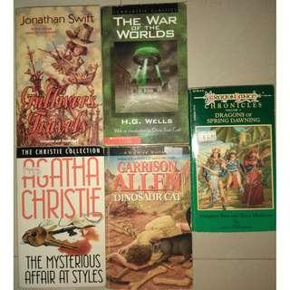Unabridged Classics - Agatha Christie, Gulliver's Travels, War of the Worlds...