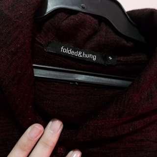 Folded & hang